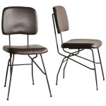 1950s Cocorita Side Chairs by Velca Legnano