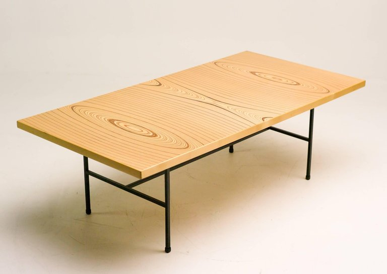 Laminated Plywood Low Table by Tapio Wirkkala for Asko  : L1082576master from mymodern.com size 768 x 545 jpeg 38kB