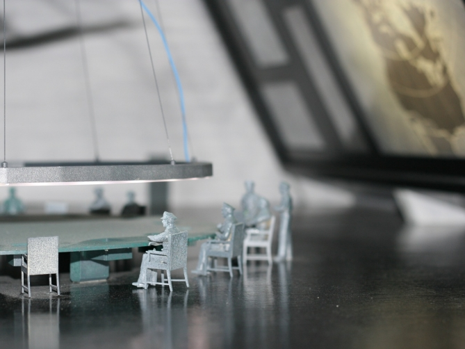 War room maquette, Doctor Strangelove