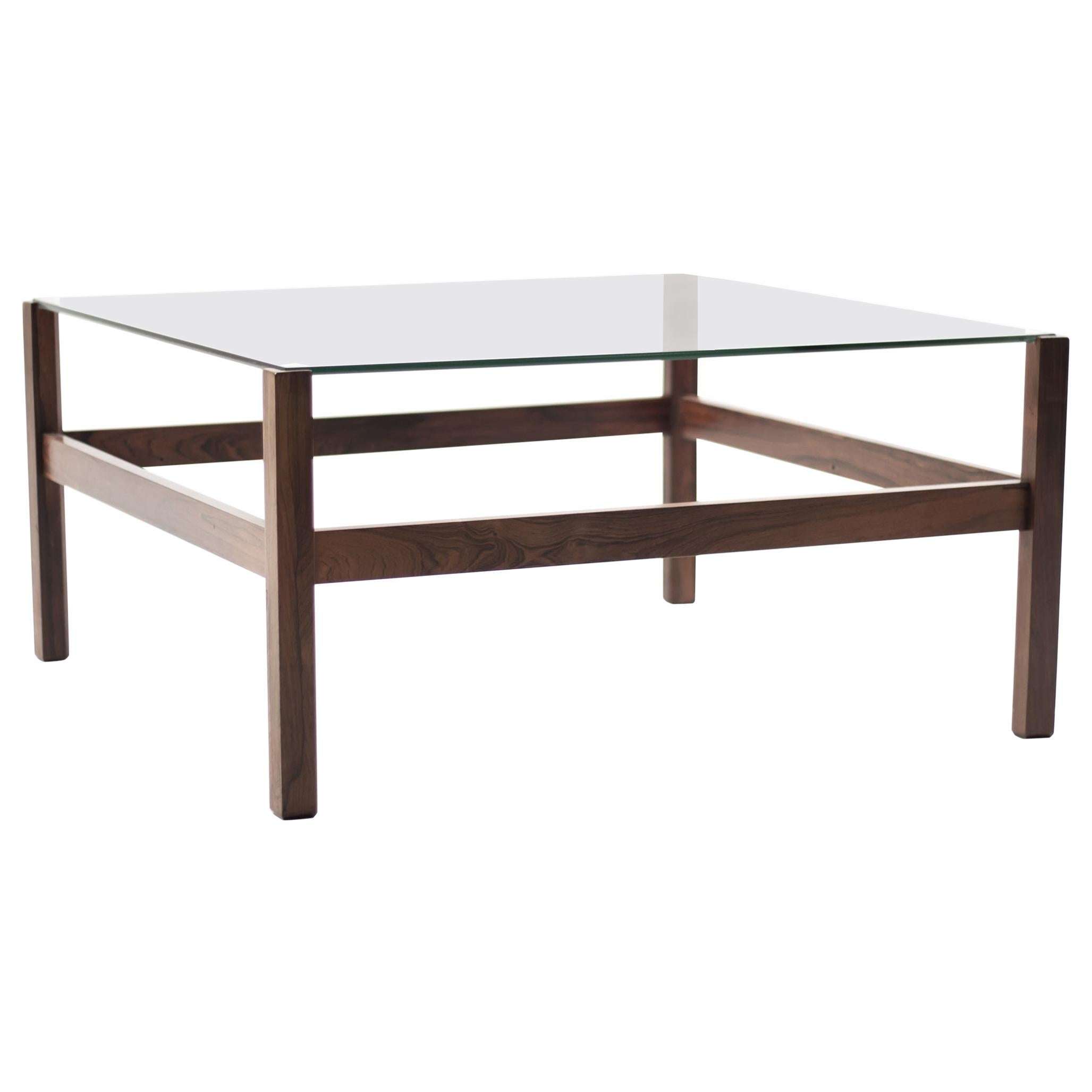 Architectural Brazilian Rosewood Coffee Table My Modern