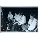 Sex Pistols Backstage, Iconic Large Photo by Dennis Morris, #1 of Edition of 5